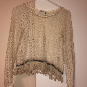 Anthropologie Boho Top